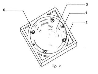 Tapa y marco de arqueta de registro, de plástico reforzado con fibra de vidrio, y procedimiento de fabricación.