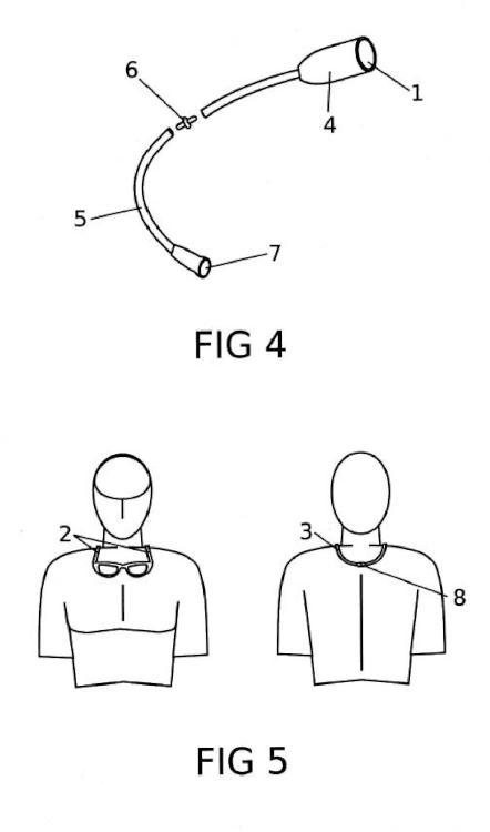 Sujetador de gafas de cierre magnético.