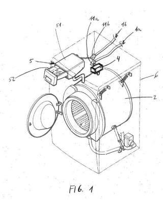 Máquina de lavado y procedimiento de utilización de dicha máquina de lavado.