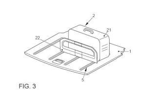 Sistema de fijación a piso de maletero de vehículo automóvil.