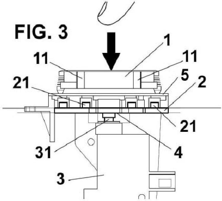 Dispositivo actuador para unidad de control y procedimiento de fijación de un dispositivo actuador para unidad de control.
