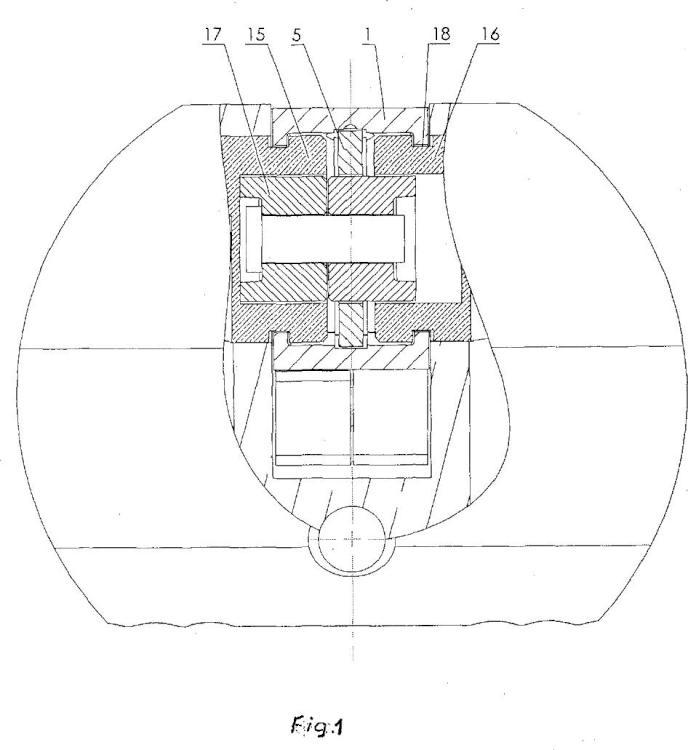 Cerradura de cilindro.