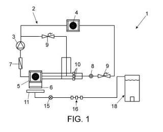 Equipo de condensación de agua atmosférica para la obtención de agua potable.