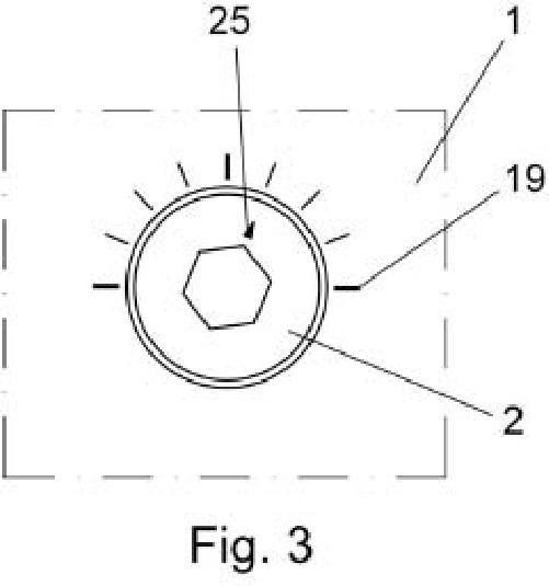 Estrangulador de caudal para salidas de fluido a alta presión.