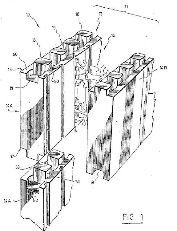 Mejoras en un sistema de paneles de construcción apilables.