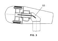 Aerogenerador con dispositivos internos de transporte.
