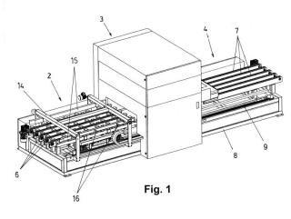Máquina para impresión digital de paneles.