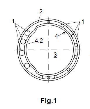 Armadura asimétrica para pilotes de contención y máquina para su fabricación.