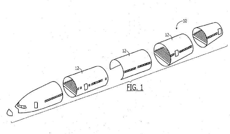 Chapa de empalme y método asociado para unir secciones de fuselaje.
