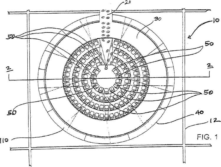 Teatro con movimiento circular.
