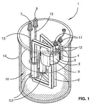 Limitador de corriente de fallo, de alta tensión, que tiene bobinas de fase sumergidas.