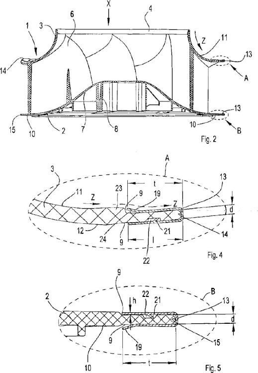 Dispositivo de rueda de ventilador radial.