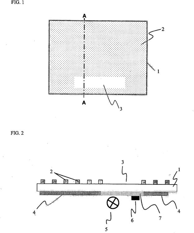 Encimera de cocina con una placa de material vitrocerámico como superficie de cocción.
