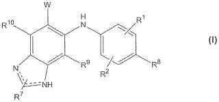 Derivados de bencimidazol N3-alquilados como inhibidores de MEK.