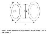 Gránulos de polímeros adecuados como material de relleno para estructuras de césped artificial.