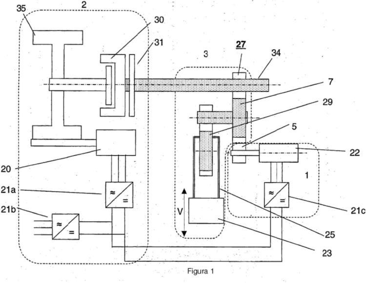 Kit de mejora de motor para una prensa mecánica.