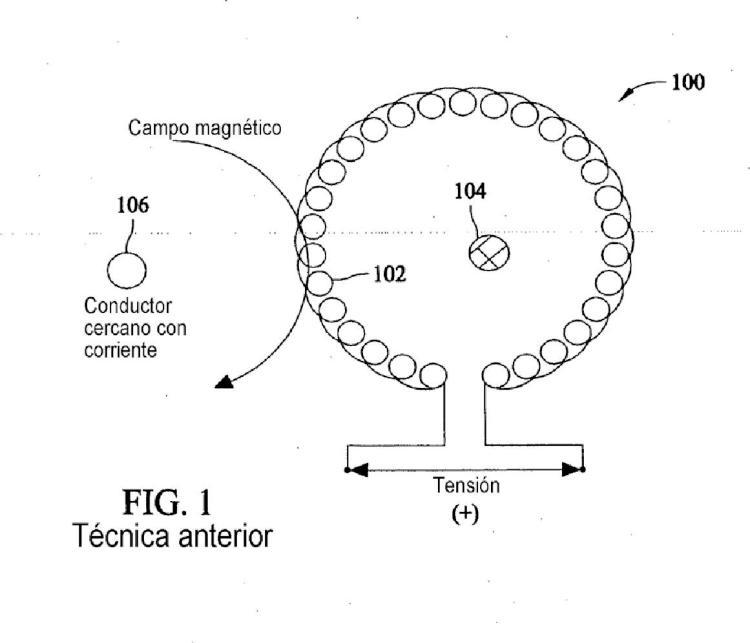 Conjunto de bobina de Rogowski blindado y métodos.