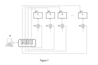 Sistema de regulación de caudales de aire de ventilación en naves de instalaciones de tratamiento de residuos sólidos urbanos y procedimiento de regulación.