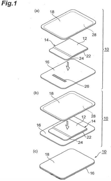 Paquete de cinta adhesiva sensible a la presión.