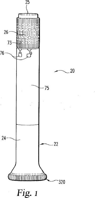Dispositivo de inyección automático con mecanismo de retardo que incluye un elemento de empuje de funcionamiento doble.