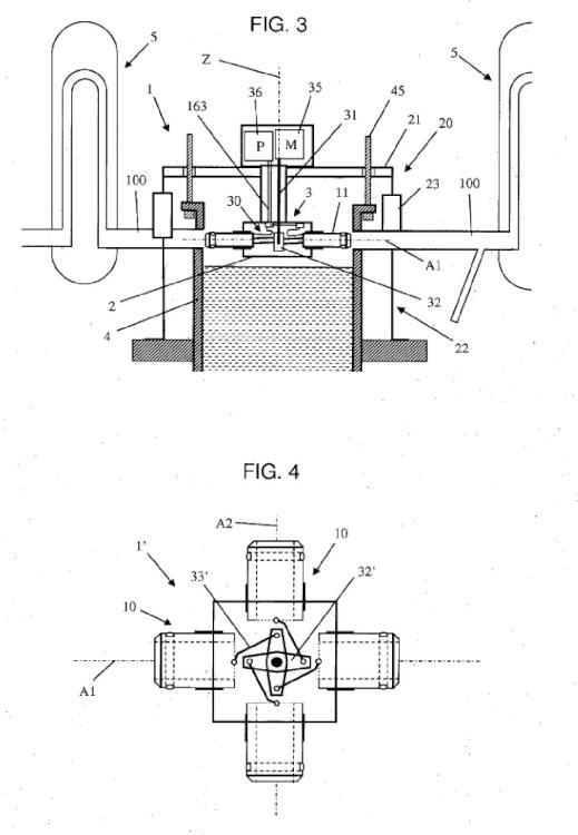 Dispositivo de conexión destinado a conectarse a al menos una canalización.