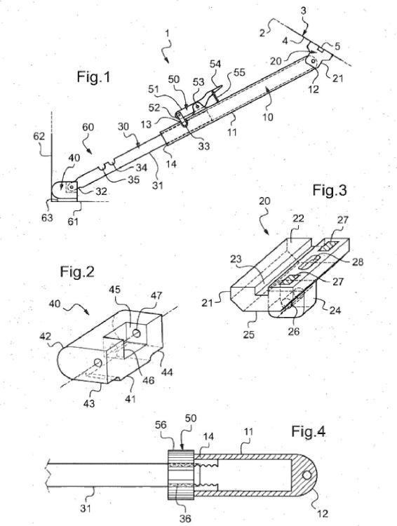 Dispositivo de refuerzo de la traviesa inferior del hueco de ventana para la colocación de un parabrisas de vehículo automóvil.