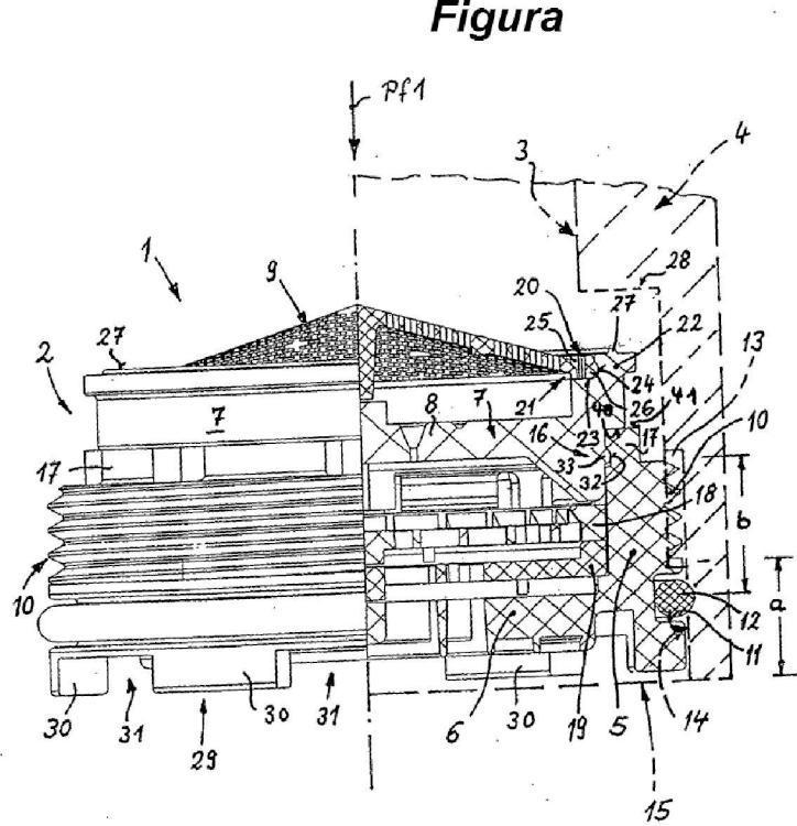 Unidad funcional sanitaria para el montaje en una conducción de líquido.