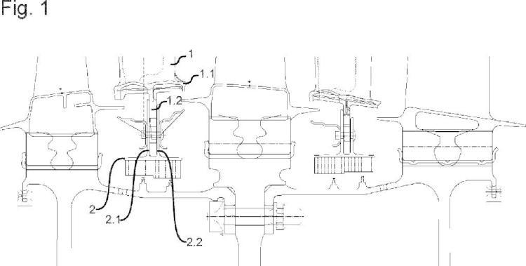 Grado de turbina de gas.