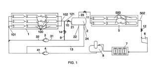 Planta de generación directa de vapor y procedimiento de operación de la planta.
