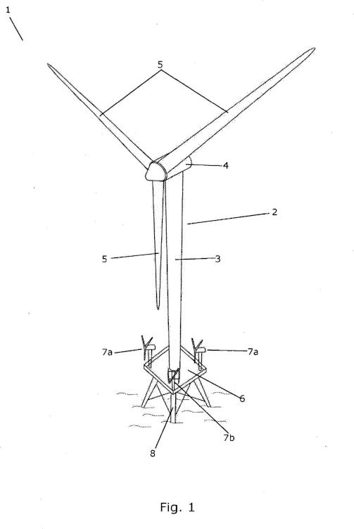 Disposición de turbinas eólicas con una turbina eólica principal y al menos una turbina eólica secundaria.