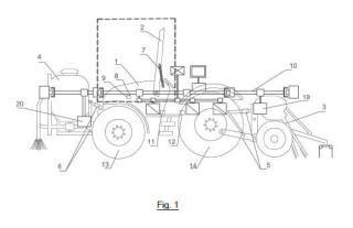 Dispositivo electrónico y procedimiento de protección frente a vuelco para vehículos agrarios, forestales y de obras públicas.