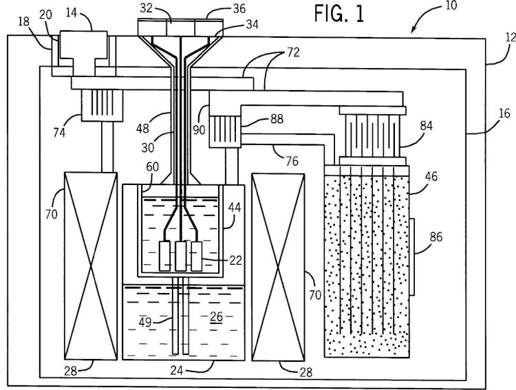 Procedimiento y aparato para hiperpolarizar materiales para técnicas de RM potenciadas.