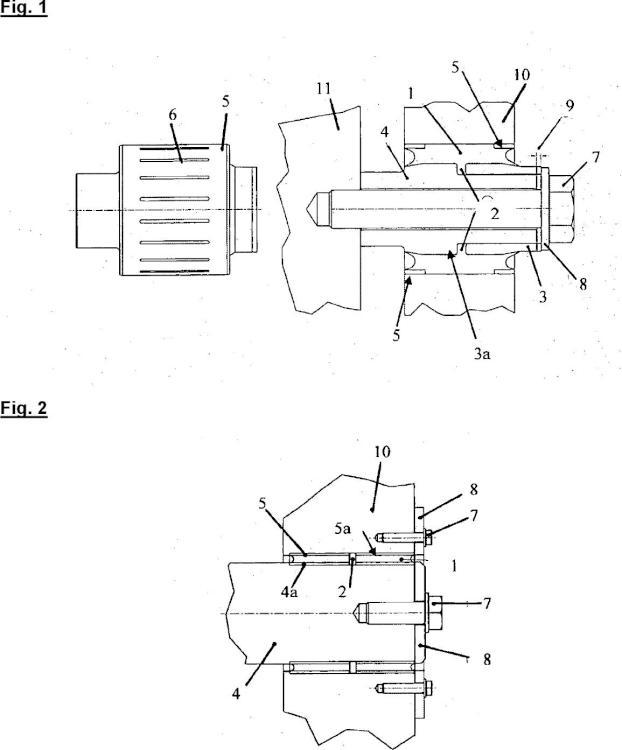 Casquillo pretensable por desplazamiento de material y cojinete equipado con este casquillo.