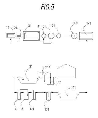 Procedimiento y sistema de depuración de líquidos residuales.