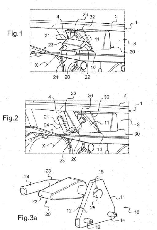 Dispositivo de refuerzo de una traviesa inferior del hueco de ventana para la instalación de un parabrisas de vehículo automóvil.