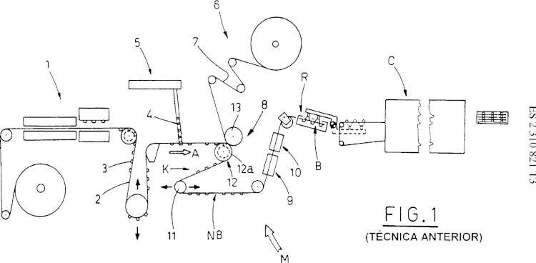 Máquina de producción de envases blíster destinada a producir envases blíster.