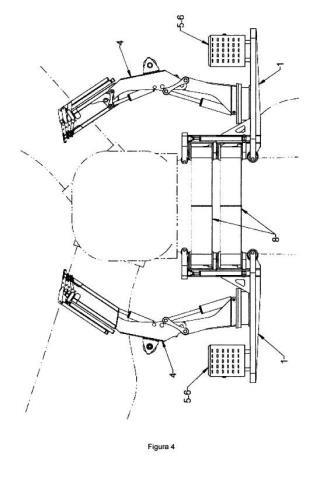 Sistema de grúas autoescalables y autoajustables para aerogeneradores.