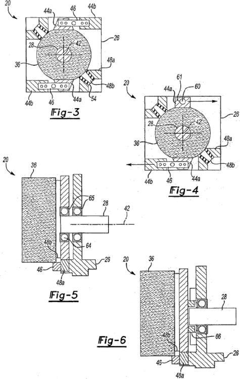 Dispositivo de medición de par de freno de motor de ascensor.