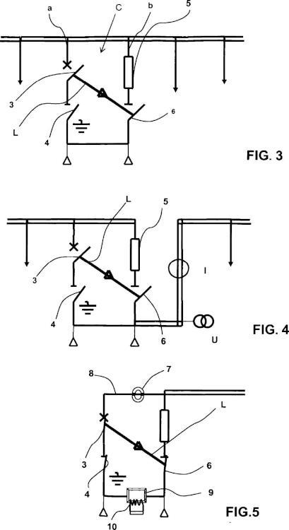 Celda de distribución eléctrica de media tensión.