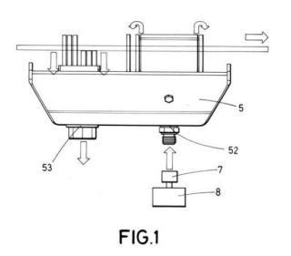 Dispositivo para mantenimiento de catenarias y vehículo que incorpora el mismo.