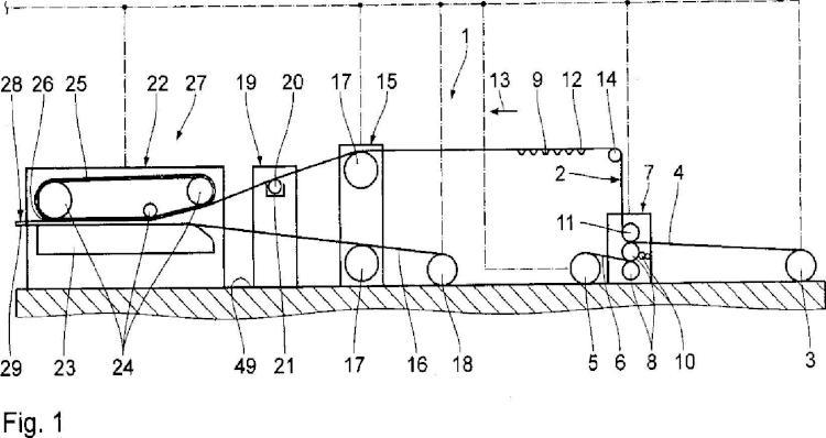 Instalación y procedimiento para la fabricación de hojas de cartón ondulado.