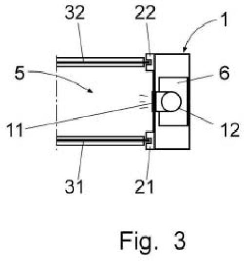 Puerta isotérmica de doble lona.