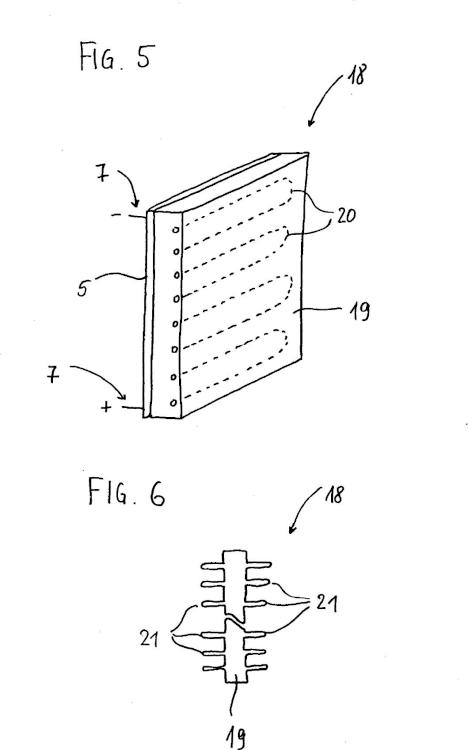 Dispositivo y método para calentar un medio.