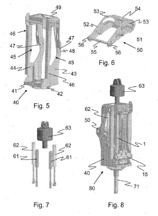 Dispositivo de acoplamiento para una herramienta de elevación.