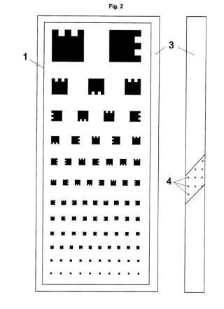 Dispositivo de análisis de salud visual.