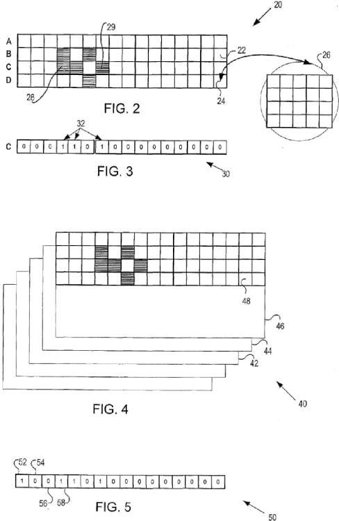 Búsqueda de alta velocidad en información de video grabado para la detección de movimiento.