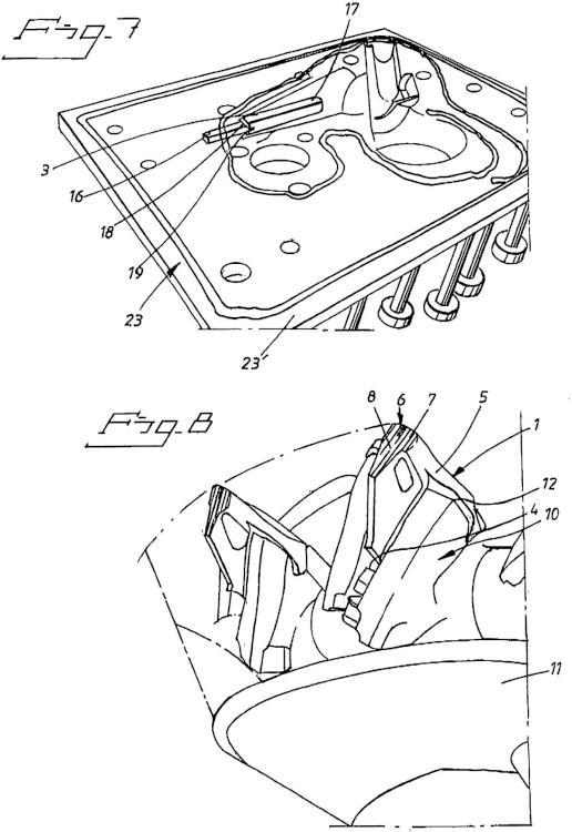 Ilustración 4 de la Galería de ilustraciones de Pieza de desgaste con auto afilado y auto señalización