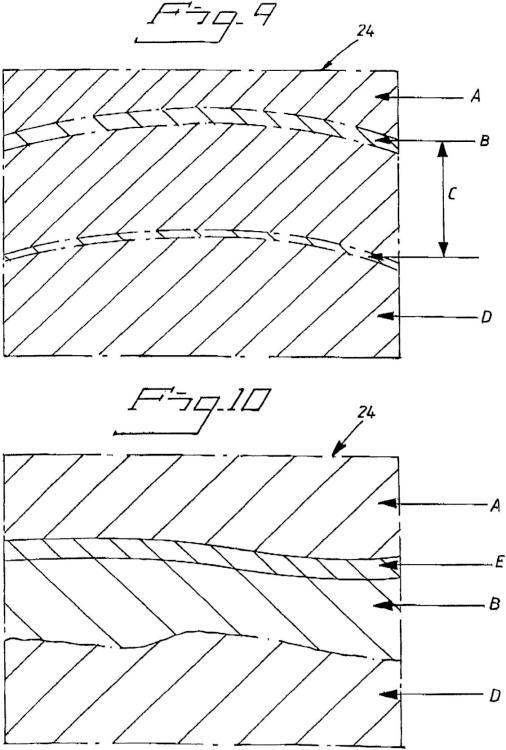 Ilustración 5 de la Galería de ilustraciones de Pieza de desgaste con auto afilado y auto señalización