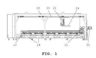 Sistema y procedimiento de transporte de palets.