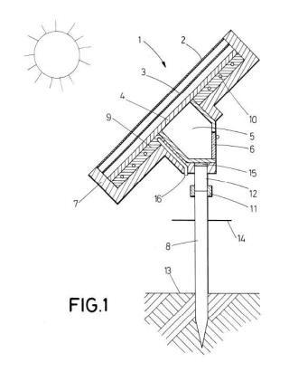Horno solar.